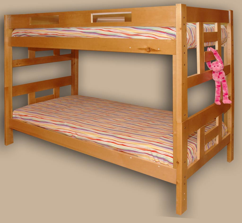 Hardwood Bunk Beds Twins