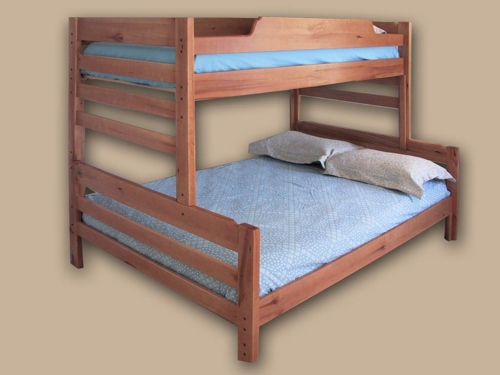 Full Twin Bunk Bed Picture